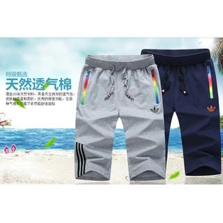 adidas五分褲七分褲休閒褲neo三葉草短褲