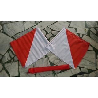 童軍雙旗/信號旗/訊號旗/紅白旗