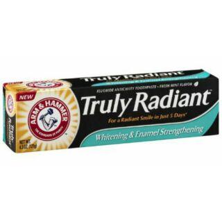 [預購]美國代購 truly radiant 超潔白牙膏