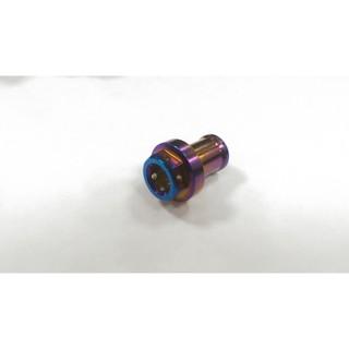 正MOTO DIY 部品白鐵螺絲鍍鈦螺絲白鐵鍍鈦廢油管塞呼吸管塞