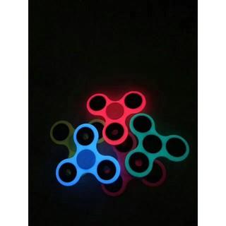 夜光指尖陀螺EDC指尖螺旋 HandSpinner 陀螺玩具手指陀螺指間陀螺