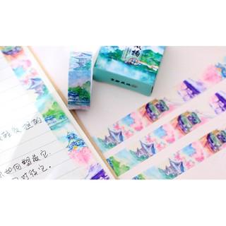 京都風物抄紙膠帶