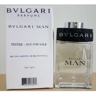 Bvlgari MAN 寶格麗當代男性淡香水 100ML Tester
