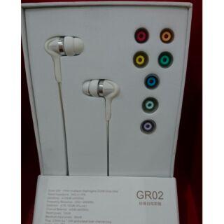 GR02密閉型耳塞式耳機