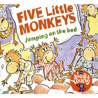 FIVE LITTLE MONKEYS JUMPING ON THE BED 單CD