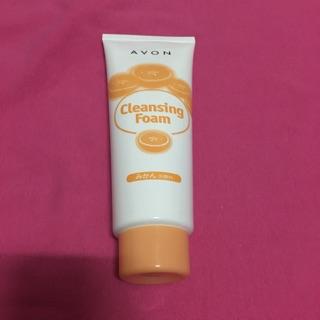 雅芳潔容霜 Cleansing Foam 橘子洗顏料  AVON 洗面乳 160g