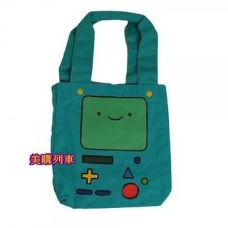【現貨!!】美國正品 Adventure Time 探險活寶 BMO 嗶莫 帆布手提袋