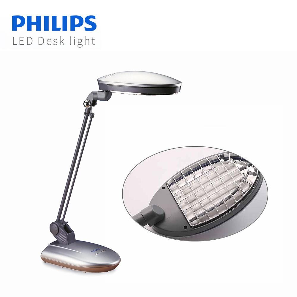 【飛利浦 PHILIPS LIGHTING】雙魚座檯燈 (PLF27203) 第二代 【買再送10W 廣角LED燈泡】