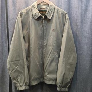 Timberland 古著 卡其 帶綠色 風衣外套