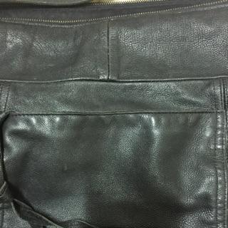 DAAD黑色真皮革
