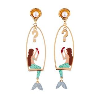 Les Nereides N2 美人魚系列 耳環(耳針)