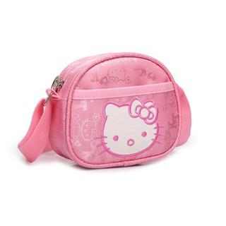 韓版hello kitty兒童包包 女童小挎包 中小童卡通休閒帆布公主包
