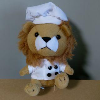 法國 PEUGEOT 寶獅 麵包獅傅 獅寶寶玩偶