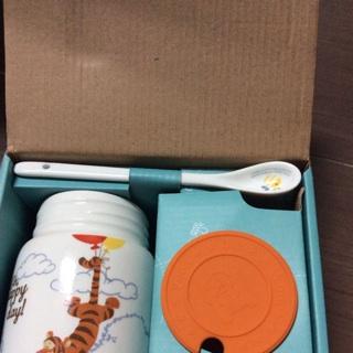 小熊維尼三件式陶瓷杯組