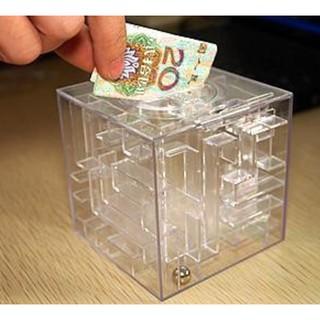 【創意禮物迷宮存錢筒】迷宮儲蓄罐/存錢罐/money maze