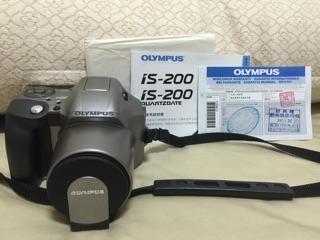 奧林巴斯OLYMPUS is-200 QUARTZOATE 照相機