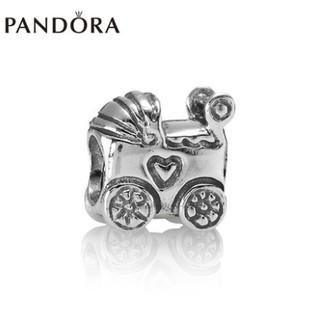 PANDORA潘多拉Baby Carriage Charm 嬰兒車925銀串飾790346