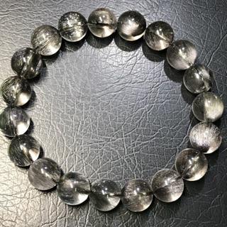 黑銀鈦手珠