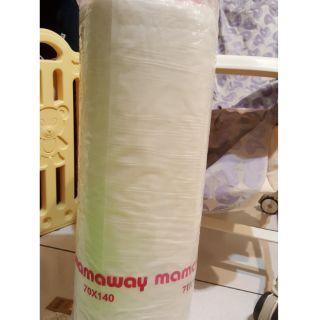 Mamaway媽媽餵-智慧恆溫益菌防瞞嬰兒床墊70*140公分,全新