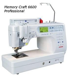 【松芝】車樂美數位電腦型縫紉機MC 6600 上送料裝置、自動剪線功能,速度控制