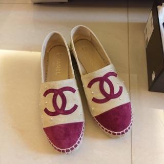 Chanel珍珠鉛筆鞋%2335號