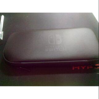 二手 Nintendo switch ns 原廠 硬殼收納包
