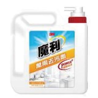 3M 魔利 萬用去污劑補充瓶(1加侖3780ML)~去污力超強新配方一瓶抵多瓶超大瓶裝經濟實惠~