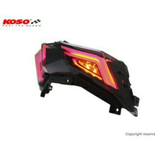 {MK} 全新 KOSO 雷霆S Arrow 導光LED尾燈組 RacingS 導光LED後燈組 雷霆S