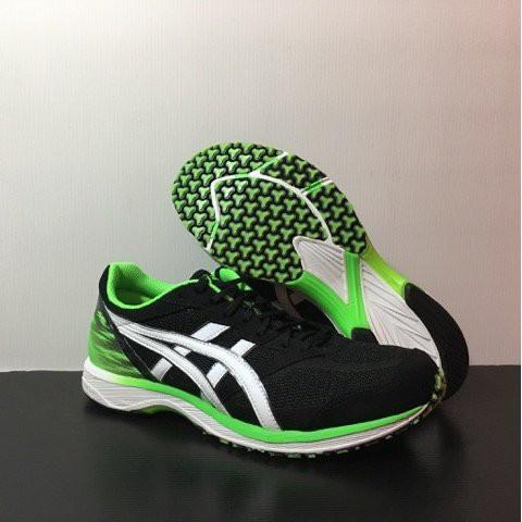 ASICS TARTHERZEAL 5 黑綠 輕量 路跑鞋 虎走寬楦 男款4 TJR289-9001