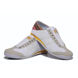 asics onitsuka tiger mexico 66 系列 復刻帆布懶人鞋 白色 男鞋