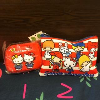 Hello kitty 迪士尼 拉拉熊 小熊維尼 達菲熊 零錢包 化妝包 嚕嚕米 側背包