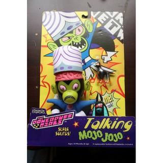 1999年 魔人啾啾 飛天小女警 Powerpuff girls 發聲玩具