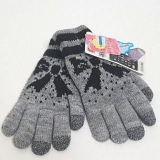 【台灣製刷毛手套--觸碰 觸控款(可滑手機)女用雙層保暖手套】 現貨款 GW002