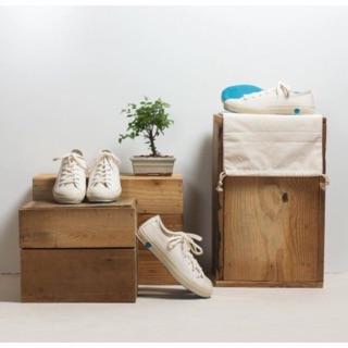 百年鞋廠MOONSTAR所製陶藝般的帆布鞋SHOES LIKE POTTERY - WHITE