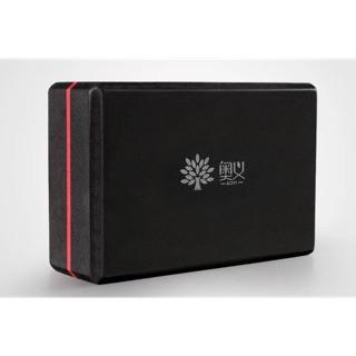 下單約2 天到門市復刻硬度 雙色撞色系黑紅瑜珈磚EVA 磚頭瑜珈黑色磚黑紅色體能課程 基礎安全