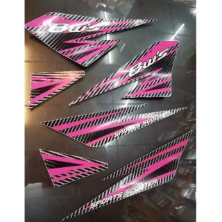 BWS125運動風 車身彩繪貼紙