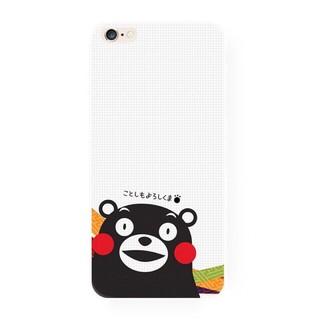 No.47 熊本熊,白色,日本 OPPO r9 r7 r9s plus iphone7s 7s plus 手機殼