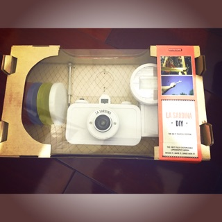 La Sardina Camera and Flash DIY Edition 白色 特別版 超廣角 沙丁魚  LOMO