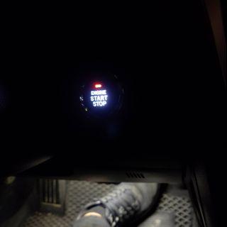 TOYOTA 車系 keyless 啟動鍵 led改色