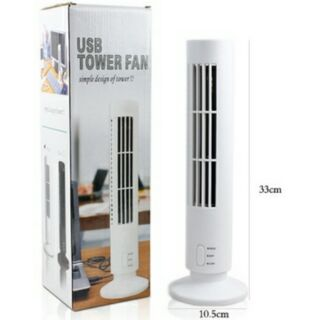 Tower Fan USB隨身款直立無葉片風扇 無葉風扇 電風扇 消暑 降溫
