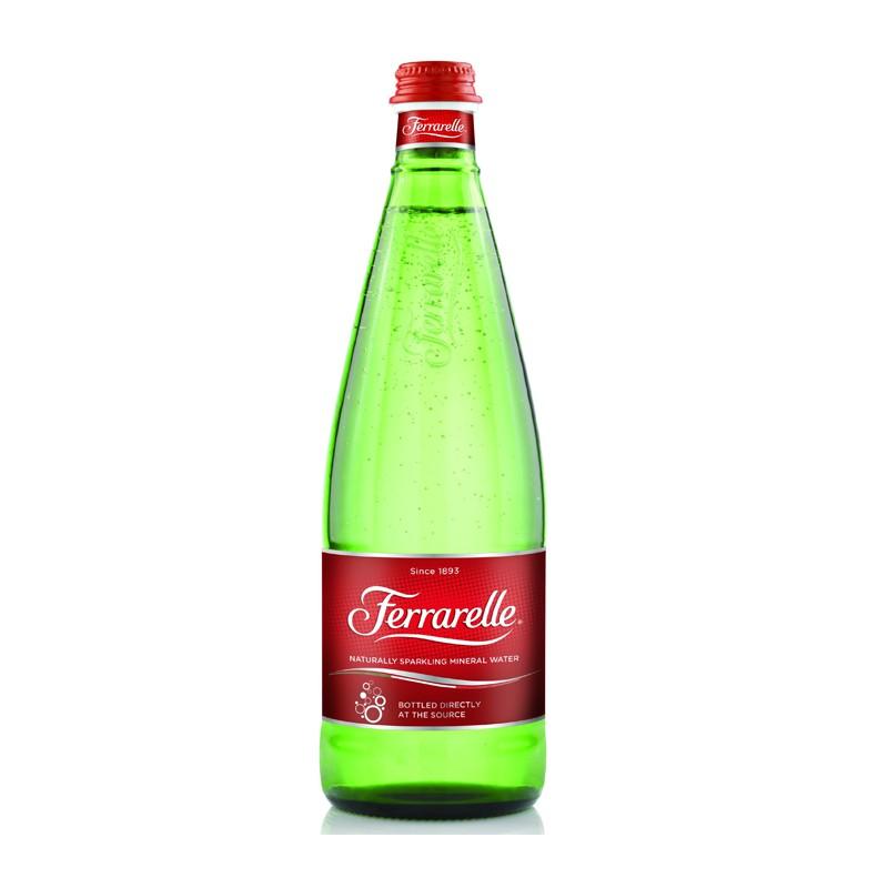 義大利法拉蕊Ferrarelle天然氣泡礦泉水750ml / 瓶