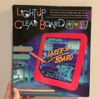 Light up Clear Board