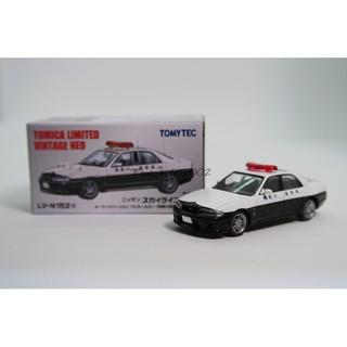 TOMICA TOMYTEC LV-152a 神奈川縣警 NISSAN SKYLINE GTR