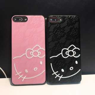 3D 浮雕刺繡hello Kittyi7 i7Plus i6 i6Plus i8 i8p