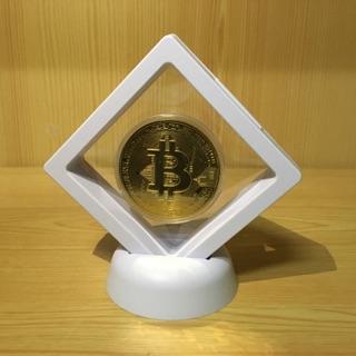 【紀念幣】虛擬貨幣展示款 - 比特幣 Bitcoin《金》