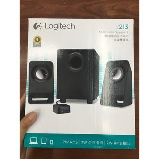 全新公司貨現貨不用等 羅技 Logitech Z-213 2.1 聲道 三件式多媒體音箱喇叭 另Z333 Z623