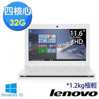 【Lenovo】ideapad 100s 80R2005BTW 11.6吋HD Intel四核心白色 貝殼機 福利品特惠