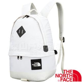 【The North Face】#55052輕便休閒背包  戶外健行包/運動旅遊後背包/ 3BX9-XVG迷彩米白19L