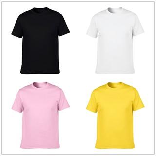 寬鬆短袖短袖t 恤短t 素t t shirt 男生女生寬鬆短袖tee 情侶T 學生班服10