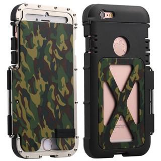 Apple IPhone 7 Plus手機殼,金屬邊框防摔翻蓋保護殼